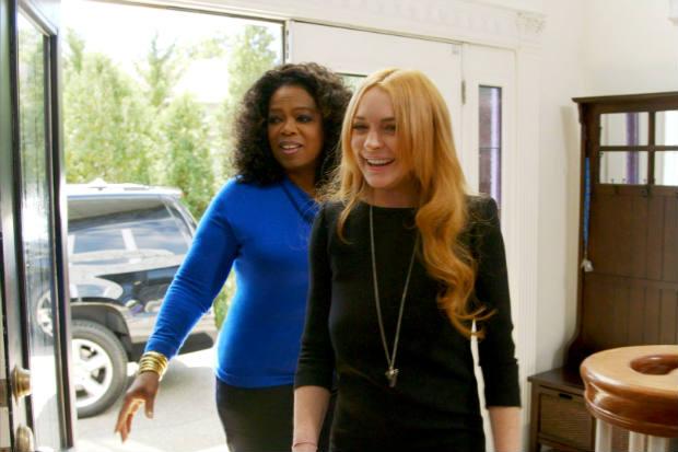 A produção teve alguns 'imprevistos', causados por ausências de Lindsay, que provocaram o aumento do orçamento total (Oprah Winfrey Network/Divulgação)
