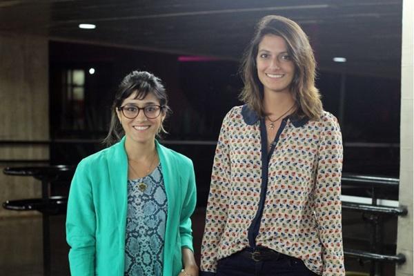 Ariadne Freitas e Jéssica Barbosa (Romulo Juracy/Esp. CB/D.A Press)