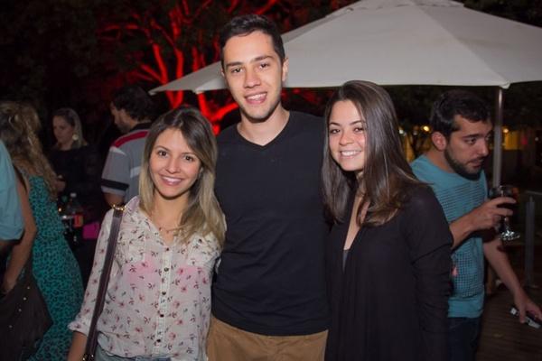 Lorena Xavier, Enrico Lettieri e Amanda Soares (Romulo Juracy/Esp. CB/D.A Press)
