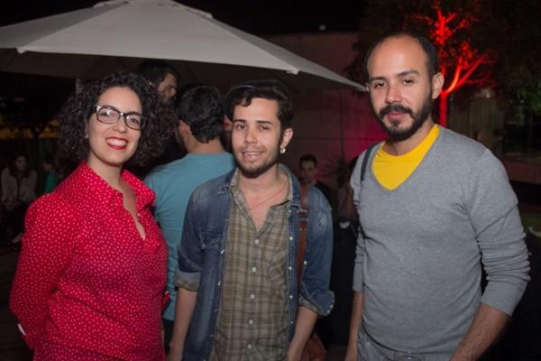 Mariane Lessa, Wallace Deo e Leonardo Shamah (Romulo Juracy/Esp. CB/D.A Press)