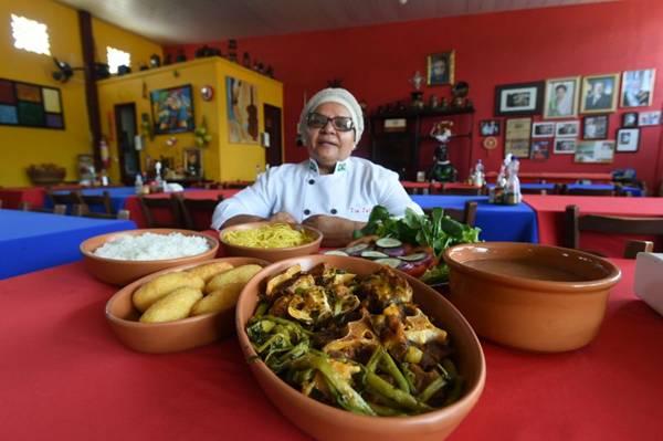 Tia Zélia orgulha-se da rabada que encantou até um ex-presidente da República (Ed Alves/CB/D.A Press)