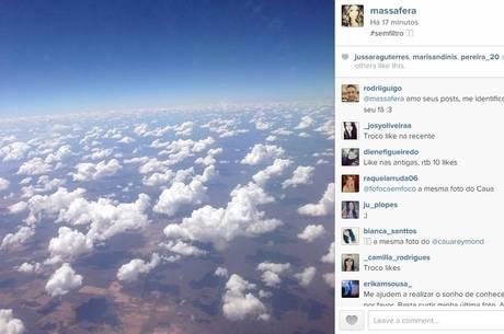 Print da publicação na página de Grazi Massafera (Instagram/Reprodução)