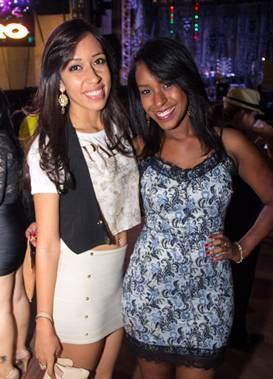 Milena Gonçalves e Aline Araújo (Romulo Juracy/Esp. CB/D.A Press)