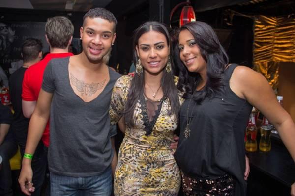 Jeferson Moraes, Nayara Lopes e Mila Martins (Romulo Juracy/Esp. CB/D.A Press)