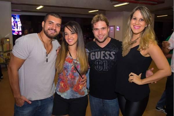 Andrey Angelim, Marina Brasil, Cristiano de Castro e Livia Campos  (Romulo Juracy/Esp. CB/D.A Press)