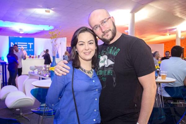 Gabriela Cunha e Leonardo Garcia (Romulo Juracy/Esp. CB/D.A Press )