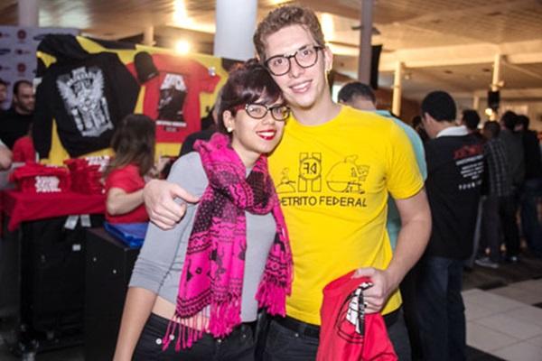 Julyana Sangaleti e Guilherme Varandas (Romulo Juracy/Esp. CB/D.A Press )