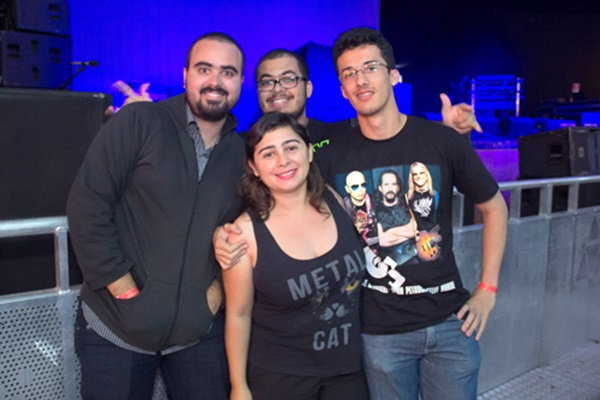 Rafael de Oliveira, Hermes Alves, Nathalia Maia e Márcio Rocha (Romulo Juracy/Esp. CB/D.A Press )