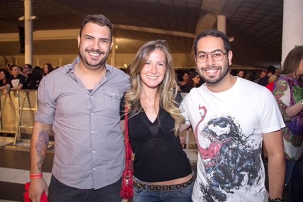 Raphael Lima, Juliana Aguiar e Pedro Moraes (Romulo Juracy/Esp. CB/D.A Press )