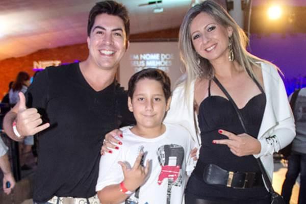 Alexandre Paulino, Caio Maia e Lilian Maia  (Romulo Juracy/Esp. CB/D.A Press )