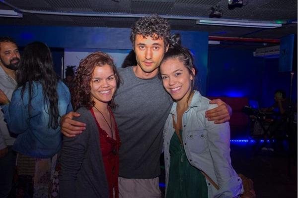 Karen Michele, Eduardo Weiss e Clara Sales (Romulo Juracy/Esp. CB/D.A Press)
