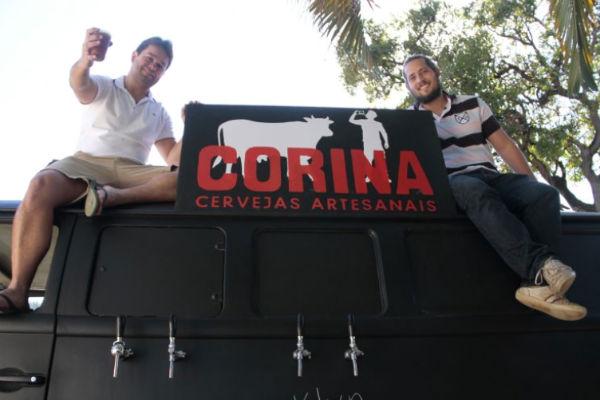 O Corina Cervejas Especiais é um dos food trucks que desembarcam na varanda do shopping Conjunto Nacional  (Ana Rayssa/Esp. CB/D.A Press)