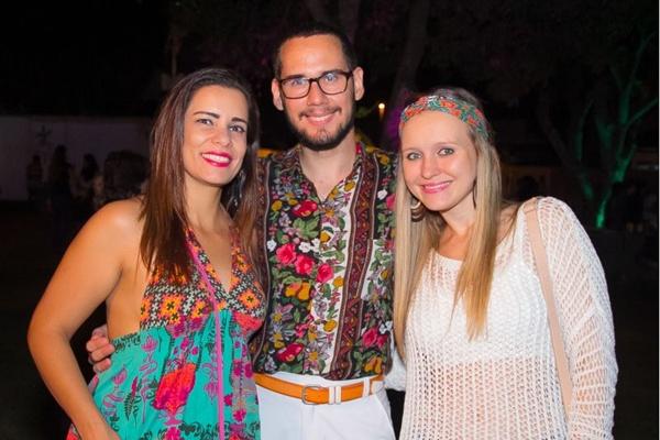 Josiane Loyola, Lucas Queiroz e Jéssica Kuchar (Rômulo Juracy/Esp. CB/D.A Press)