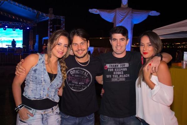 Sarah Lima, Bruno Lima, Cauê Gonçalves e Débora Melo (Rômulo Juracy/Esp. CB/D.A Press)