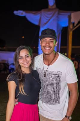 Paula Farias e Murilo Pereira (Rômulo Juracy/Esp. CB/D.A Press)