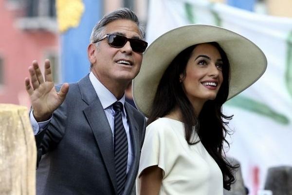 Os dois se casaram em 27 de setembro, em Veneza (Alessandro Bianchi/Reuters)