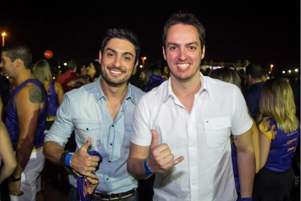 Fernando Henrique e André Jorge (Romulo Juracy/Esp. CB/D.A Press)