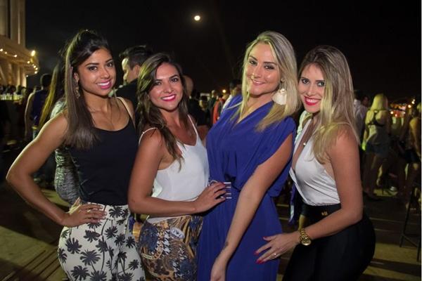 Raiara Melo, Julia Dantas, Rafaela Barramacher e Nathália Medeiros (Romulo Juracy/Esp. CB/D.A Press)