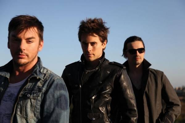 Banda 30 Seconds to Mars (EMI Music/ Divulgação)