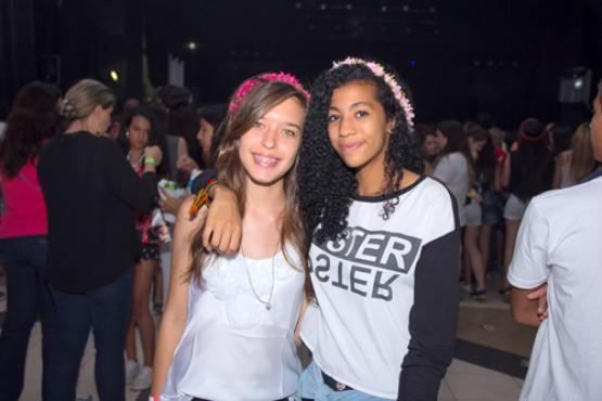 Clara Menezes e Vitória Souza (Rômulo Juracy/Esp. CB/D.A Press)