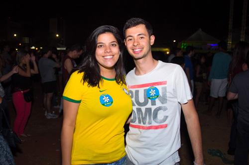 Dani Tavares e João Paulo Gusmão (Rômulo Juracy/Esp. CB/D.A Press)