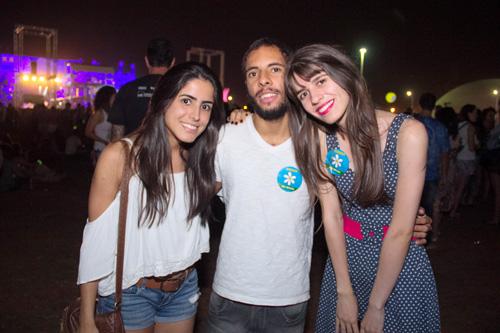 Gabriela Rezende, Matheus Jesus e Priscila Dantas (Rômulo Juracy/Esp. CB/D.A Press)