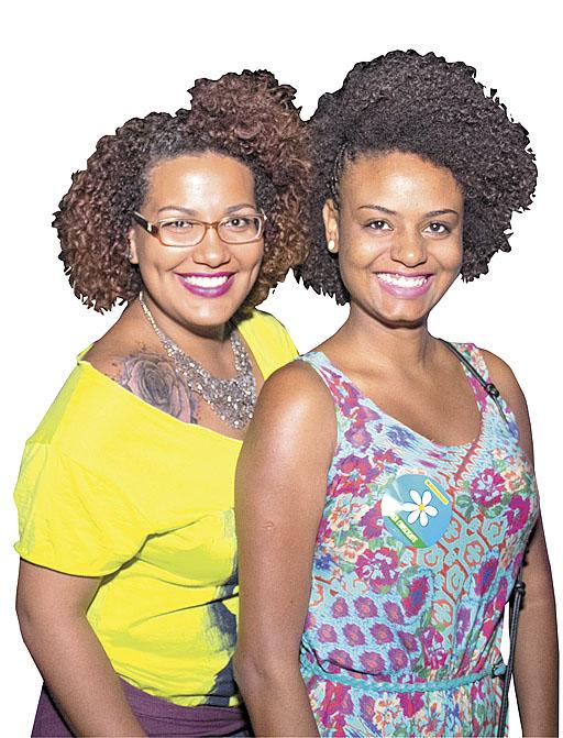 Joyce Gomes e Verônica Gomes  (Rômulo Juracy/Esp. CB/D.A Press)