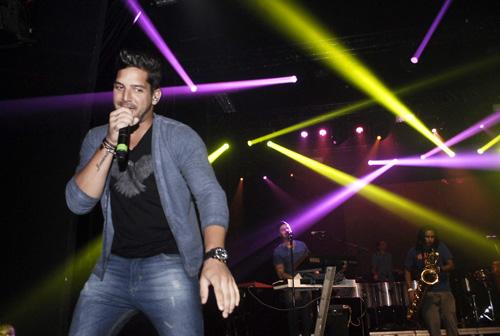 Felipe Pezzoni é o atual vocalista da banda (Gustavo Messina/Esp. CB/D.A Press)