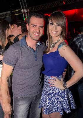 Felipe Teixeira e Danielle Ribeiro (Rômulo Juracy/Esp. CB/D.A Press)