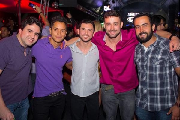 Bruno Lucera, Tyago Victor, Daniel Andrade, Anderson Chendes e Luiz Curti (Rômulo Juracy/Esp. CB/D.A Press)
