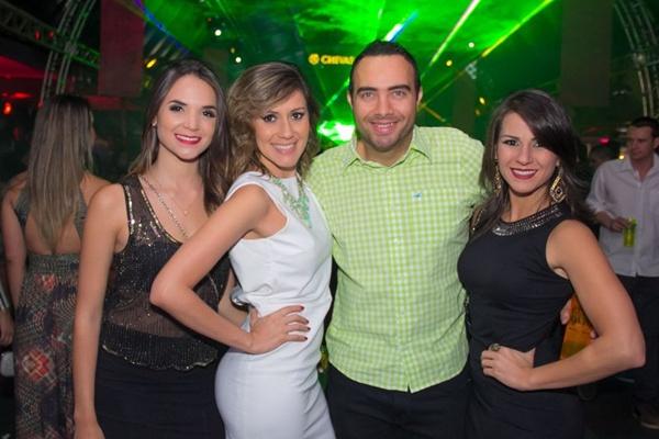 Nathália Carvalho, Brenda Sampaio, Diogo Delpaço e Priscilla Nunes (Rômulo Juracy/Esp. CB/D.A Press)