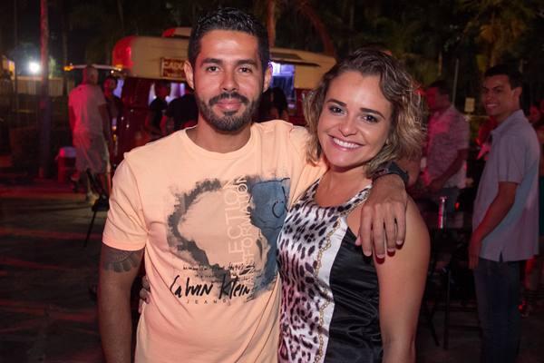Alisson Amorim e Viviane Faria (Rômulo Juracy/Esp. CB/D.A Press)