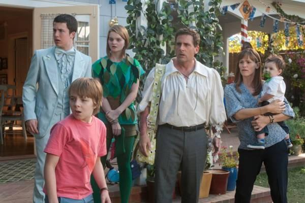 Opção divertida para toda a família, nova produção da Disney conta com Steve Carell e Jennifer Garner no elenco  (Reprodução/Disney/Buena Vista)
