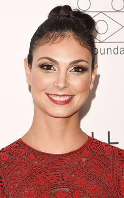 Atriz Morena Baccarin (Andrew H. Walker/Getty Images/AFP)
