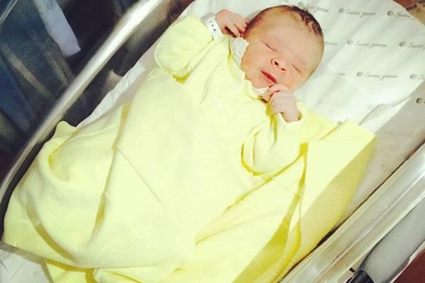 Recém-nascido é neto de Silvo e sobrinho do ator Tiago Abravanel (Instagram/Reprodução)