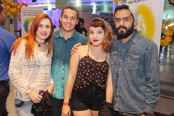 Luiza Saldanha, Lucas Meguerian, Maressa Sales e Daniel Soares (Romulo Juracy/Esp. CB/D.A Press)