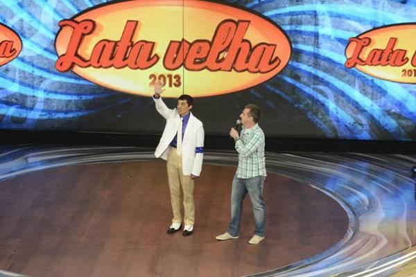 No ano passado, o brasiliense Dalto participou do Lata velha  (TV Globo/Raphael Dias)