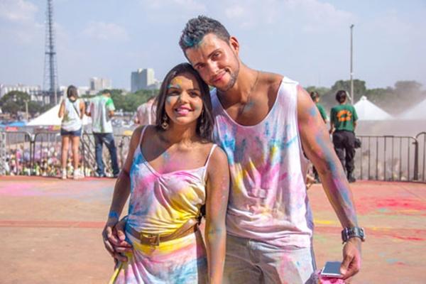 Melissa Sander e Welber Souza (Romulo Juracy/Esp. CB/D.A Press)