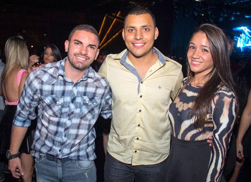 Lucas Braga, Jeferson Rodrigues e Raquel Mourão (Romulo Juracy/Esp. CB/D.A Press)