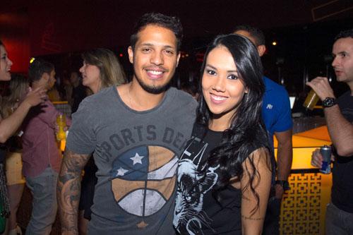 Rafael Pereira e Daniela Percinoto (Romulo Juracy/Esp. CB/D.A Press)