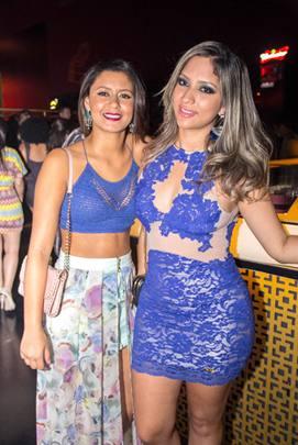 Amanda Pereira e Priscila Carvalho (Romulo Juracy/Esp. CB/D.A Press)