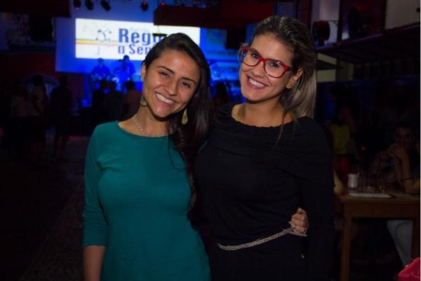 Dayana Rodrigues e Julia Alcântara (Rômulo Juracy/Esp. CB/D.A Press)
