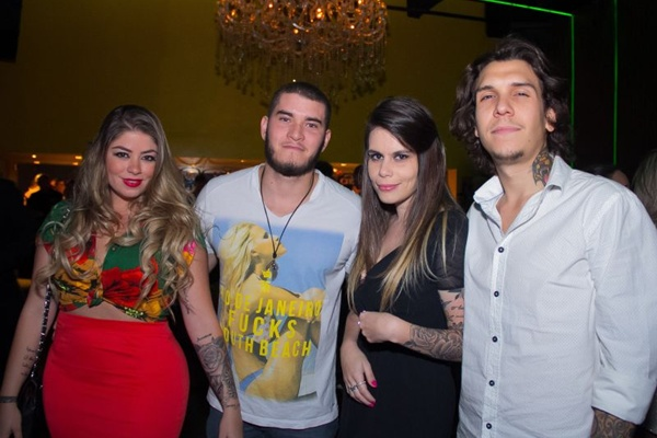 Júlia Savite, Mateus Rosa, Thami Padilha e Felipe Padilha (Romulo Juracy/Esp. CB/D.A Press)