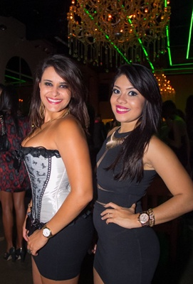 Camila Alves e Rayane Gómez (Romulo Juracy/Esp. CB/D.A Press)