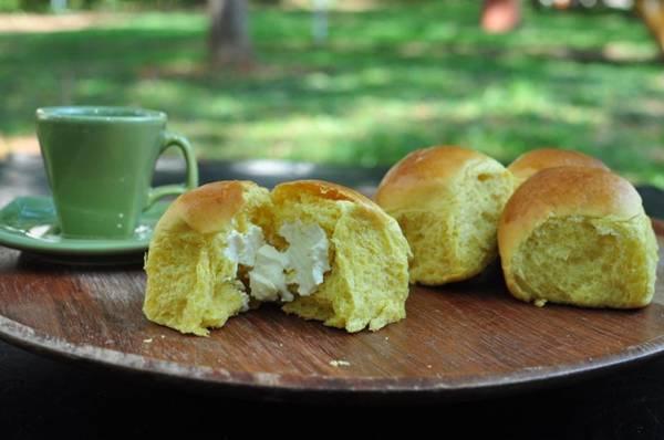 A abóbora dá um colorido especial ao pão ( Paula Rafiza/Esp. CB/D.A Press)