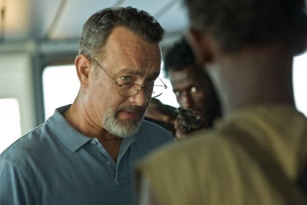 Ator Tom Hanks em cena do filme Capitão Phillips (Columbia Pictures/CB/CB/Divulgação/D.A Press)