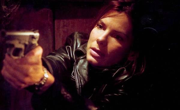 Atriz Sandra Bullock em cena do filme Cálculo mortal (Warner Bros/Reprodução)
