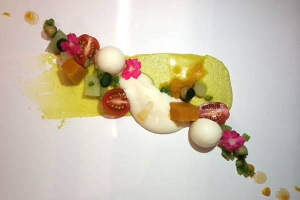 Salada de frutas fora da caixa: criação do jovem Lui Veronese  (Lui Veronese/Divulgação)