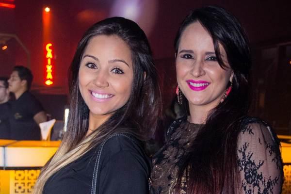 Nathália Gomes e Alexandra Tricarico (Romulo Juracy/Esp. CB/D.A Press)