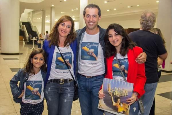 Luiza Ribeiro, Graziela Ribeiro, Luiz Ribeiro e Lara Ribeiro (Romulo Juracy/Esp. CB/D.A Press)